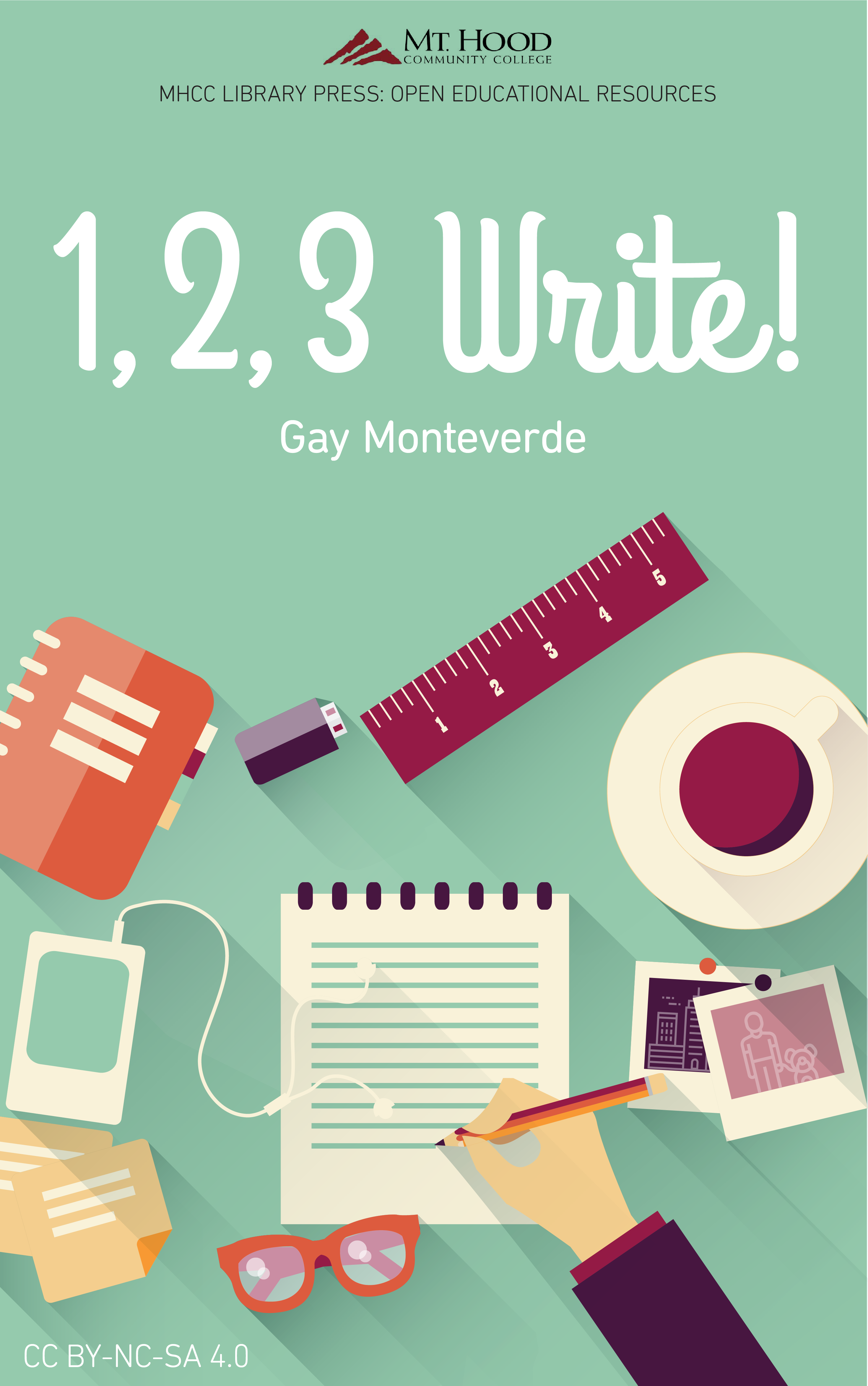 Cover image for 1, 2, 3 Write!