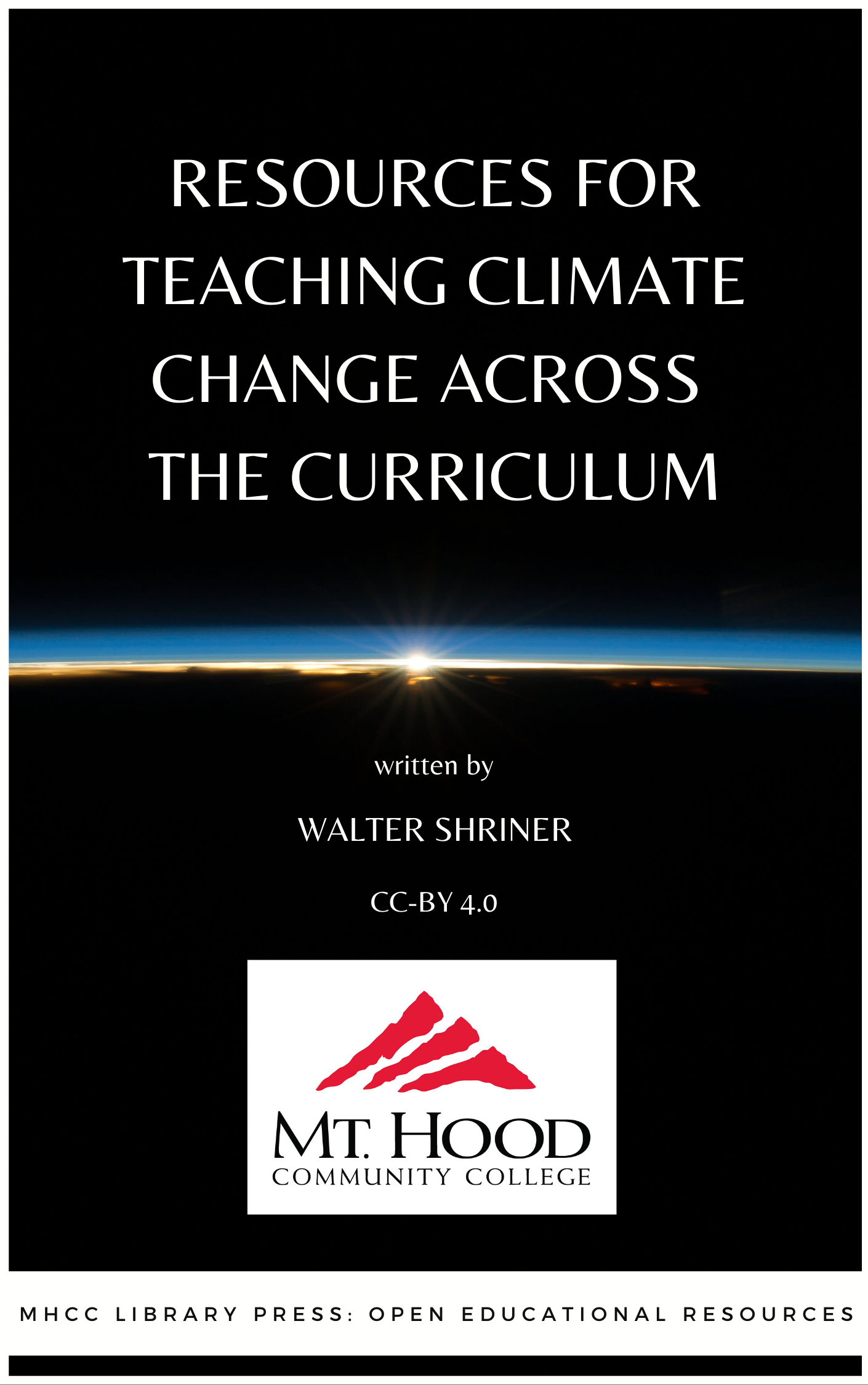 Cover image for Resources for Teaching Climate Change Across the Curriculum