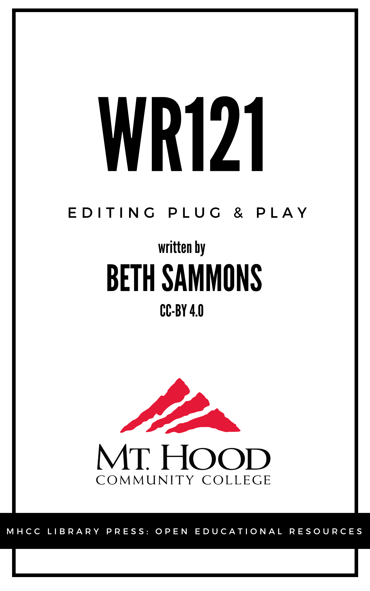 Cover image for WR121 Editing Plug and Play